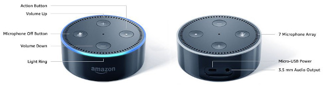 Image of Amazon Echo (Alexa)