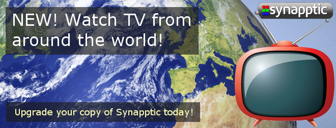New! Watch TV from around the world!