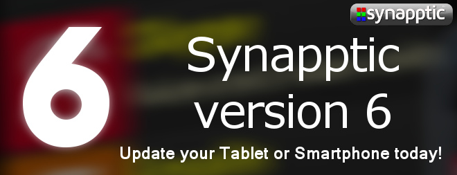 New! Synapptic version 6 now available