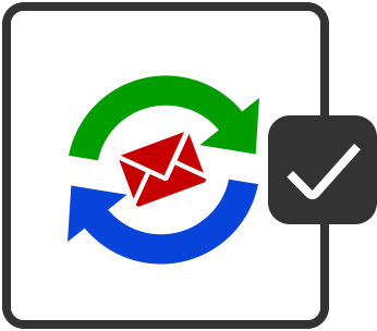 Send/Receive Email Icon