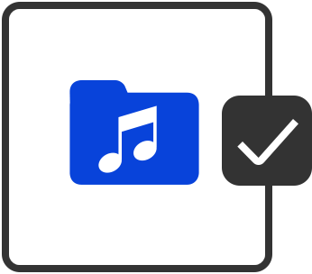 Organise MP3 Icon
