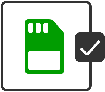 SD Card/Memory Stick Icon