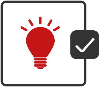 Use in low light conditions icon