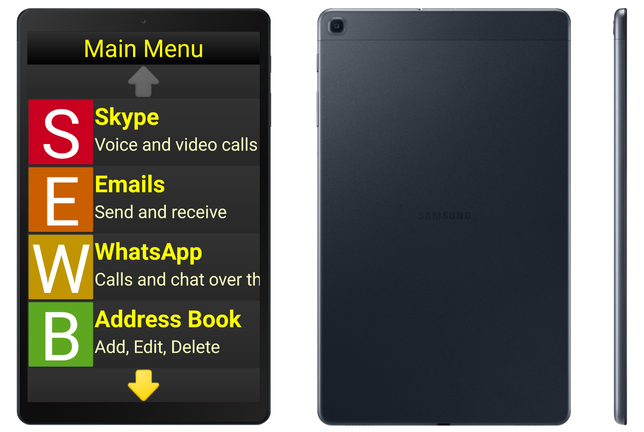 Silver Tablet package